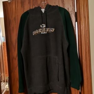 Green Bay Packers fleece hooded pullover